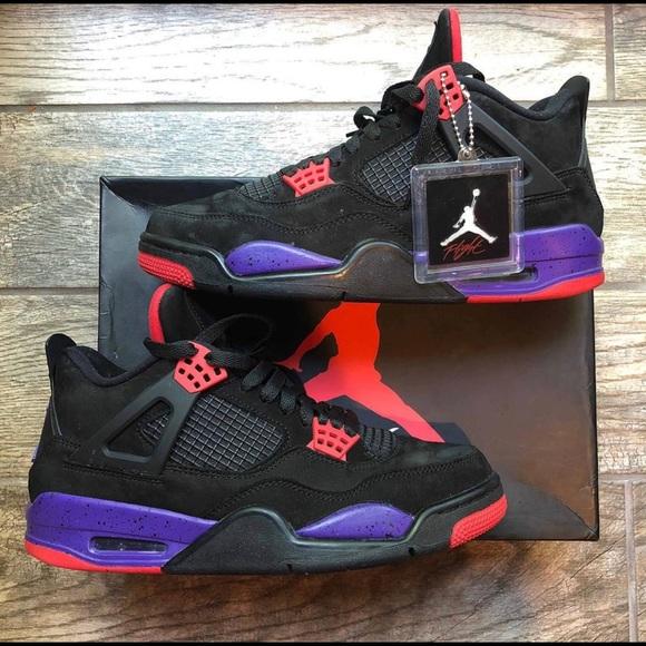 Jordan Shoes   Size85 Jordan 4 Raptors